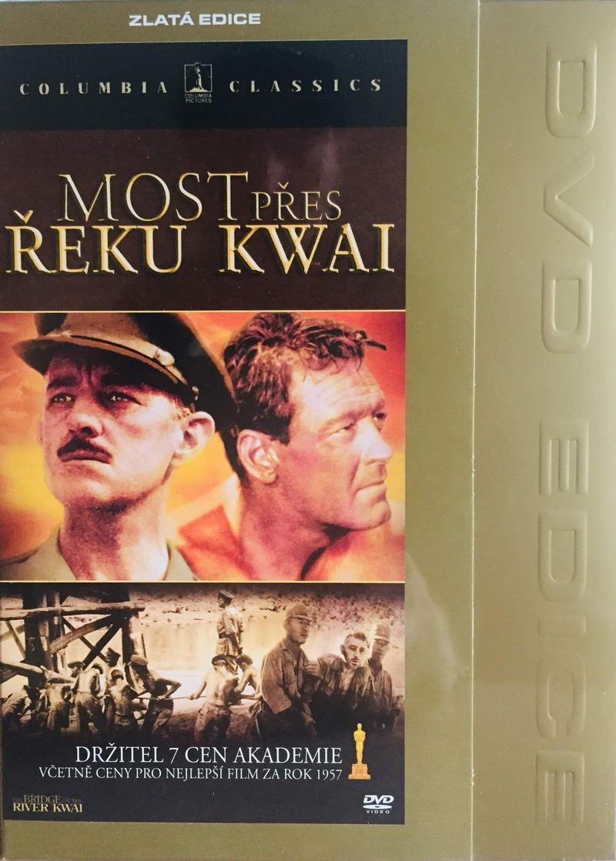 Most přes řeku Kwai - Zlatá edice - DVD /digipack/