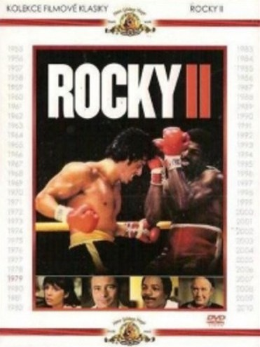 Rocky II - DVD /digipack/