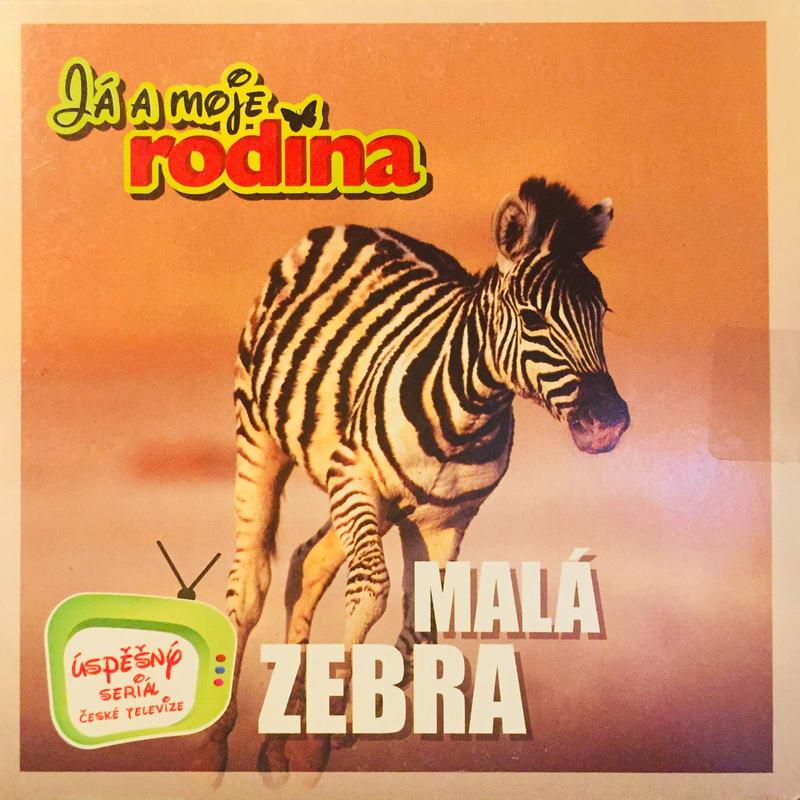 Já a moje rodina - Malá zebra - DVD /pošetka malá/
