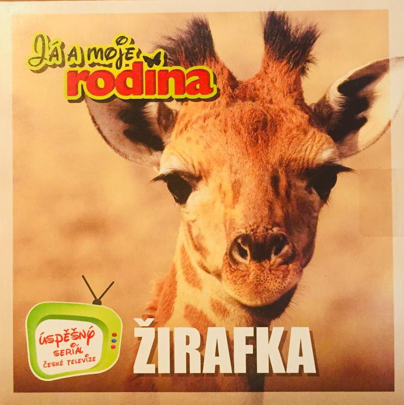 Já a moje rodina - Žirafka - DVD /pošetka malá/