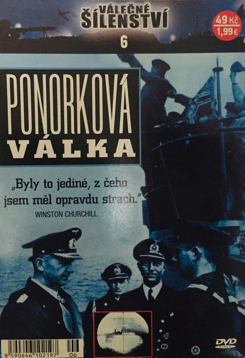 Válečné šílenství 6 - Ponorková válka - DVD /pošetka/