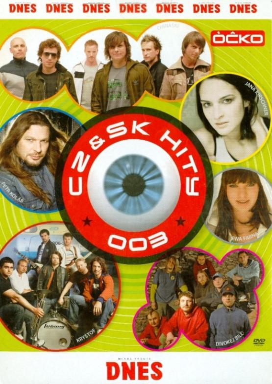 CZ & SK hity 003 - DVD /pošetka/