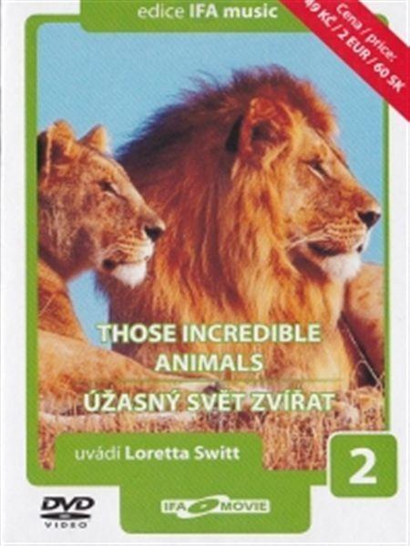 Úžasný svět zvířat 2 - DVD /pošetka/