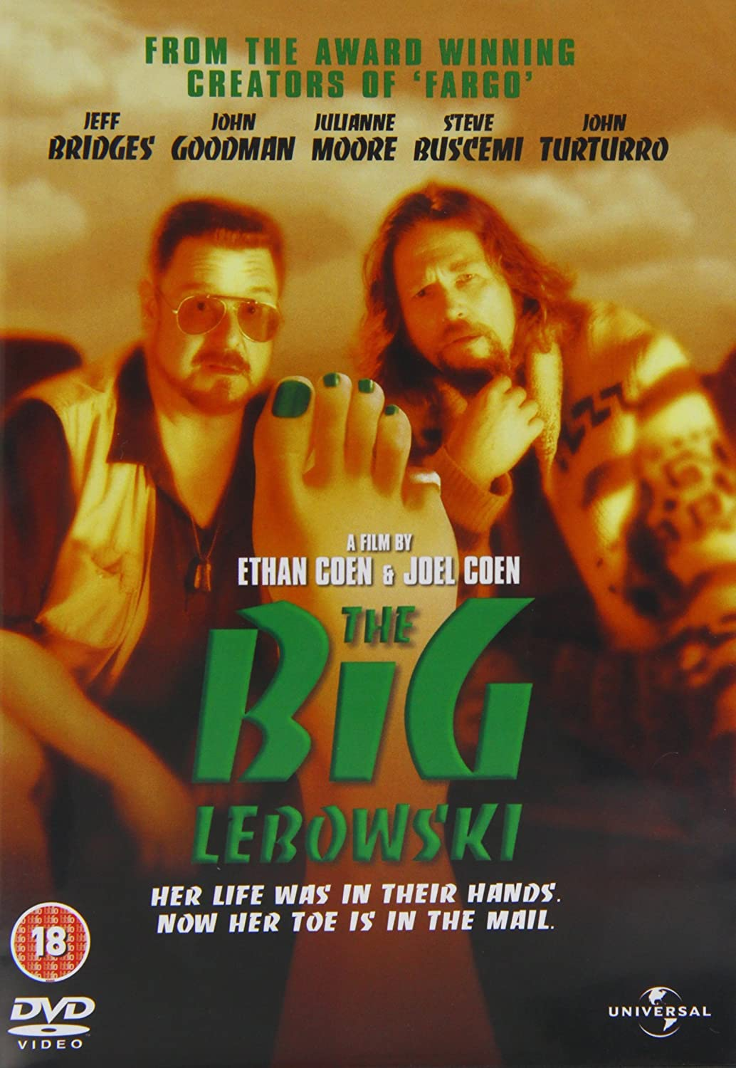 The Big Lebowski - DVD /plast/