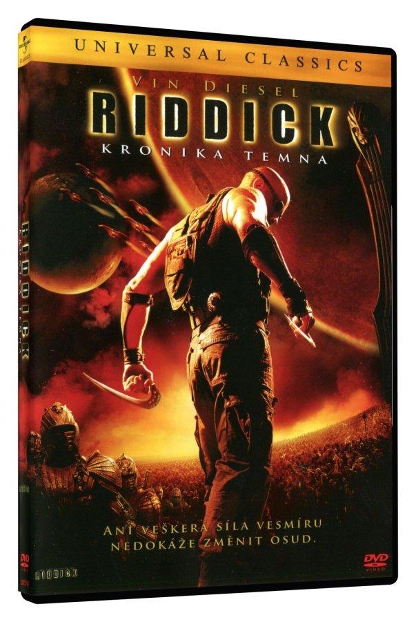 Riddick - Kronika temna - DVD /plast/