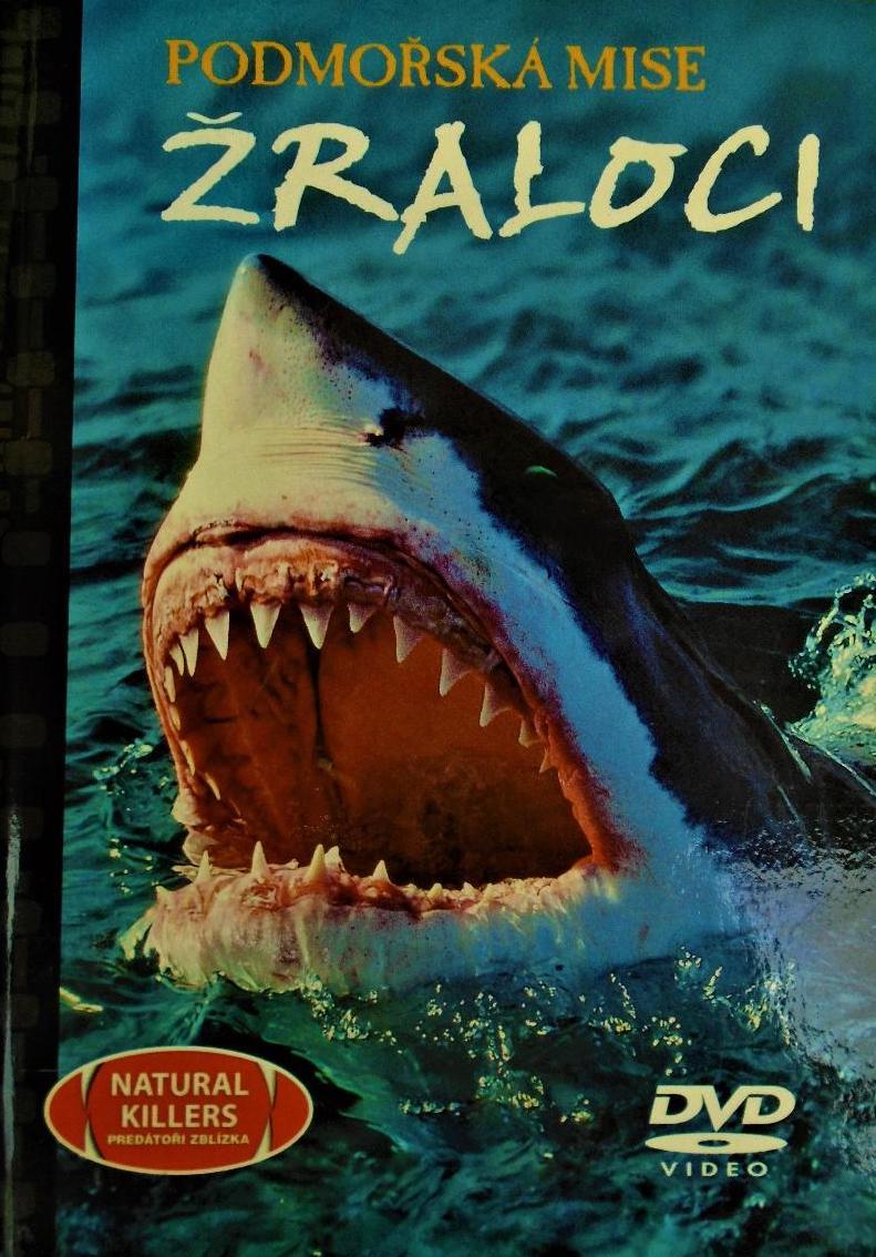 Podmořská mise - Žraloci - DVD /brožura+DVD/