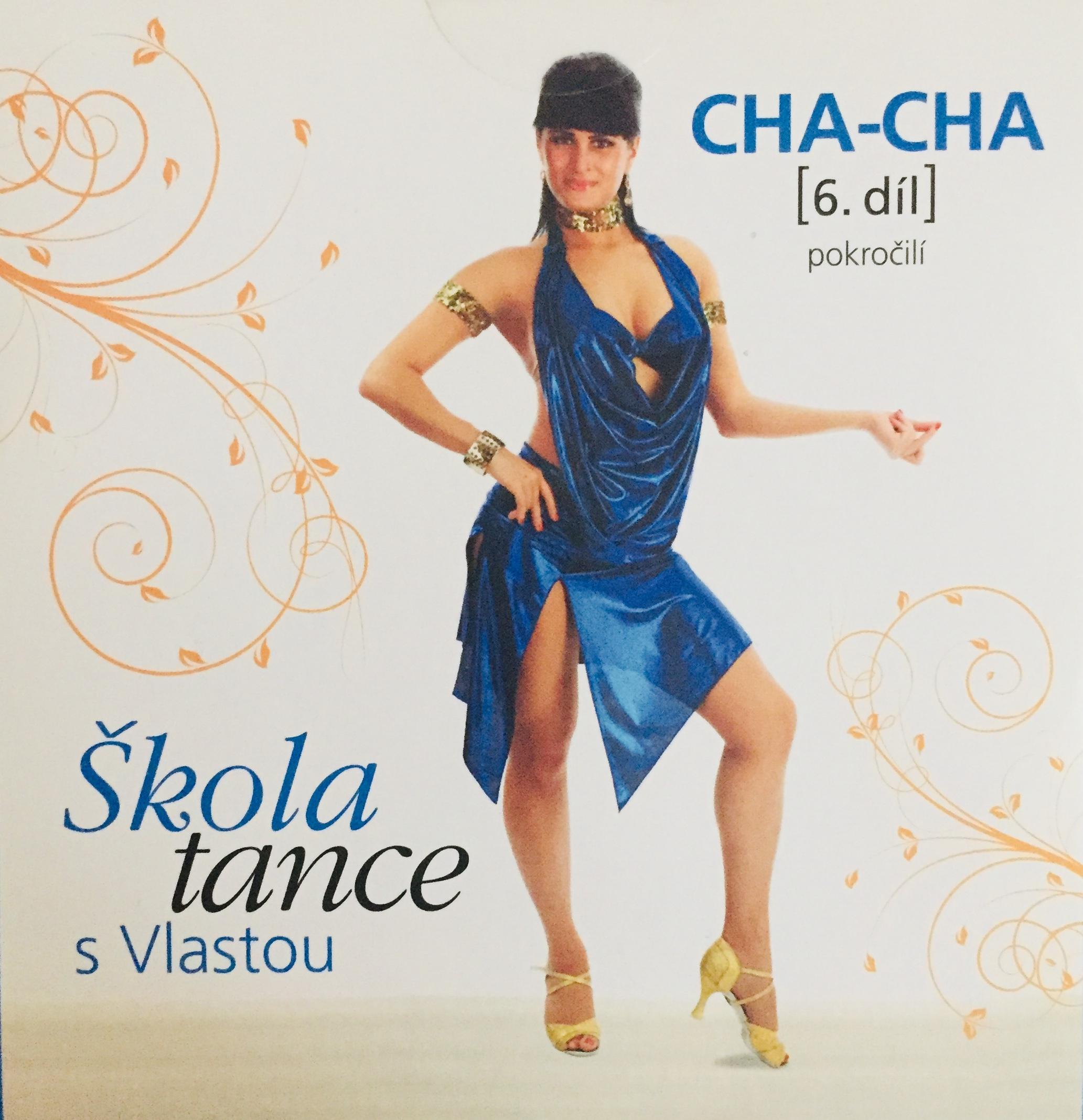 Škola tance s Vlastou - Cha-cha 6. díl - DVD /pošetka malá/