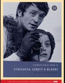 Vtáčkovia, siroty a blázni - DVD /slim/