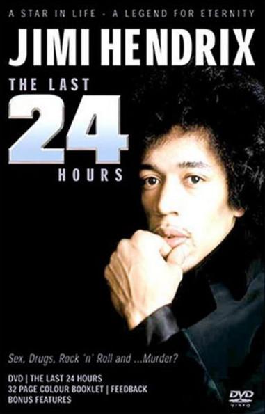Jimi Hendrix - The last 24 hours - DVD /plast/