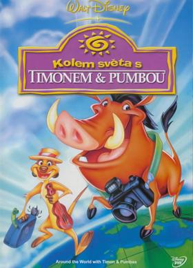 Kolem světa s Timonem & Pumbou - DVD /plast/
