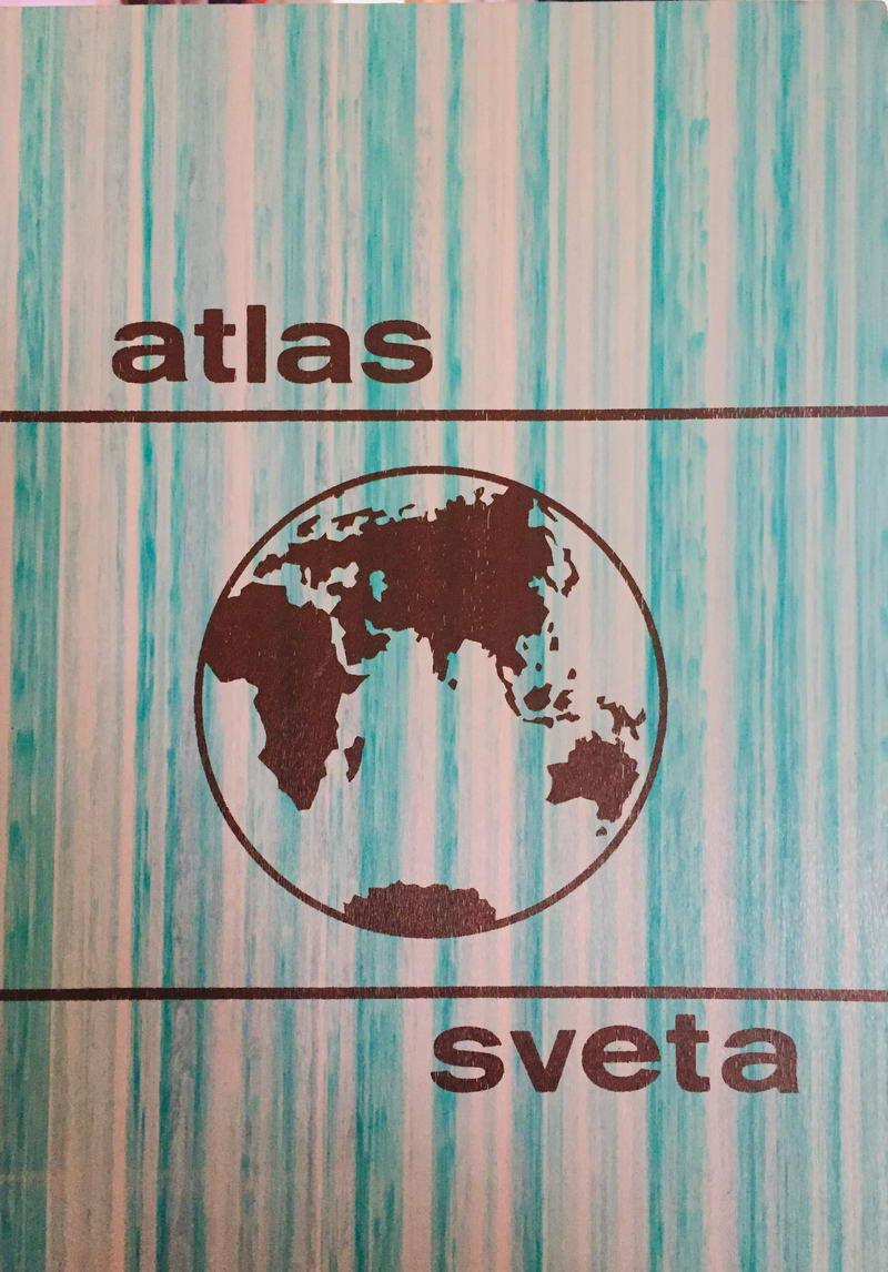 Atlas sveta - kolektiv autorů /bazarové zboží/