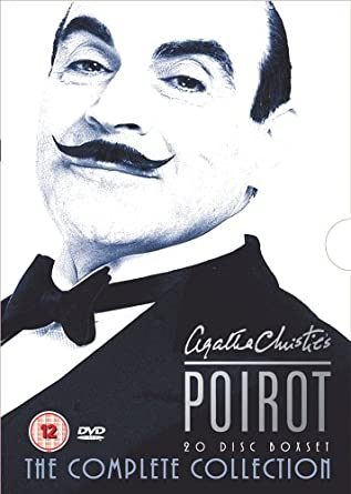 Agatha Christie - Poirot - The Complete Collection - 24 DVD - bazarové zboží