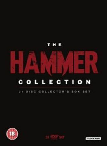 The Hammer Collection - 21 DVD - bazarové zboží