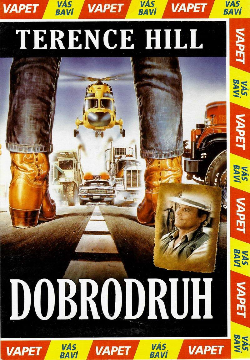 Dobrodruh (Terence Hill)  - DVD pošetka