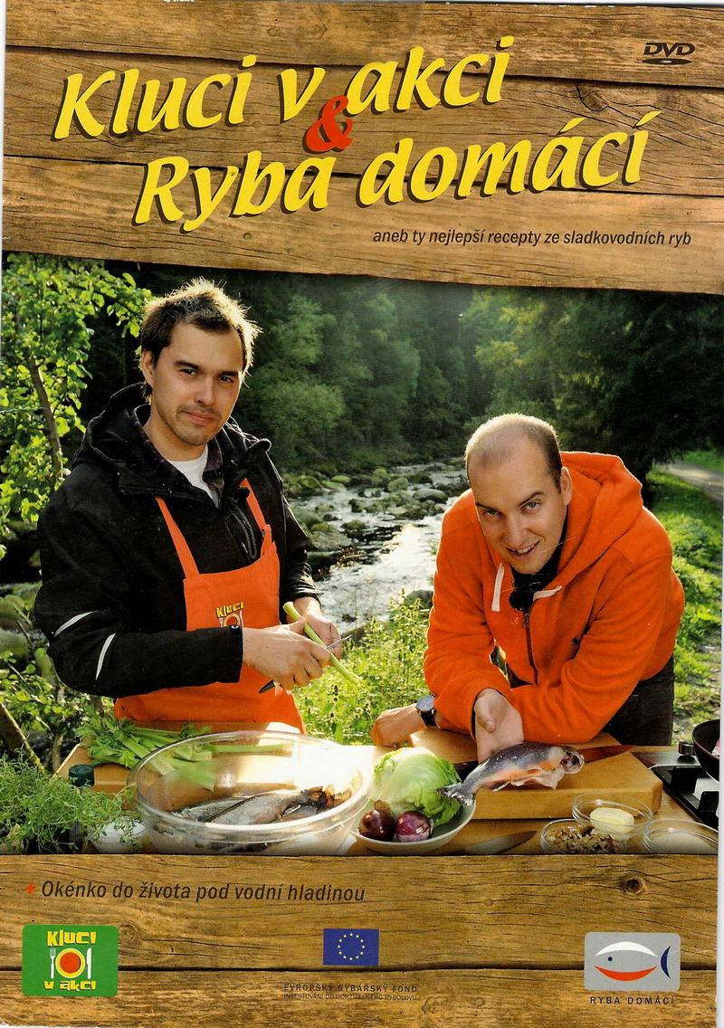 Kluci v akci - Ryba domácí - DVD pošetka