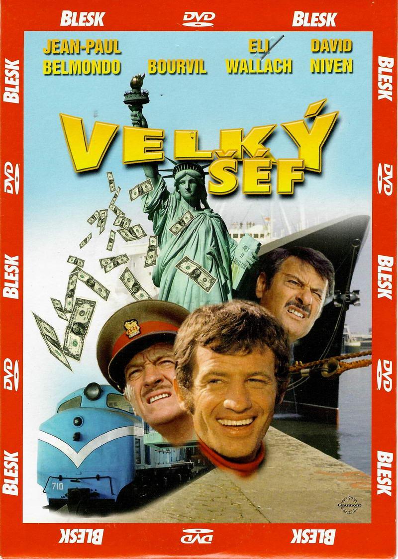 Velký šéf ( Jean-Paul Belmondo ) - DVD pošetka