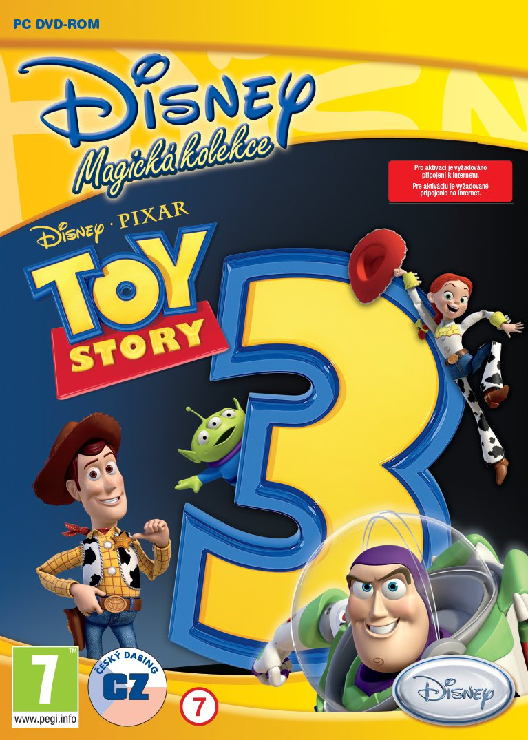 Toy Story 3 - PC hra /plast/