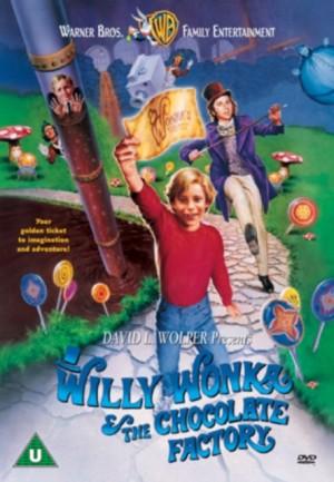 Willy Wonka The Chocolate factory - DVD plast (v originálním znění bez CZ titulků)