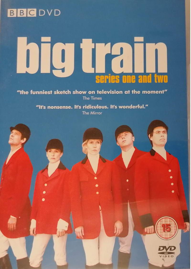 Big train - series one and two - DVD plast ( v původním znění bez CZ titulků)