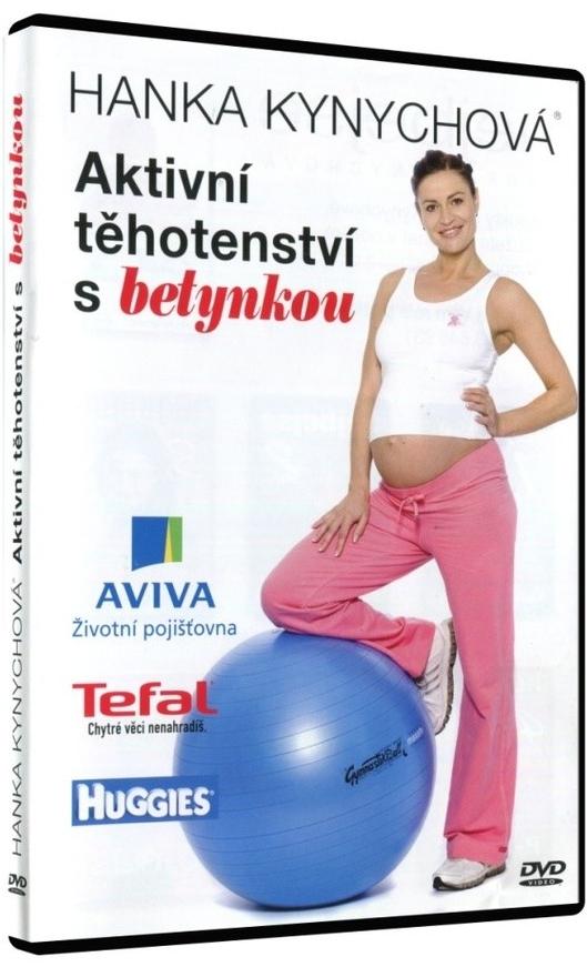 Hanka Kynychová - Aktivní těhotenství s betynkou - DVD /plast/