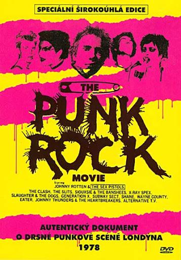The Punk Rock Movie - v originálním znění s CZ titulky - DVD /plast/