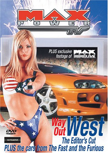 Max Power - Way Out West - DVD /slim/