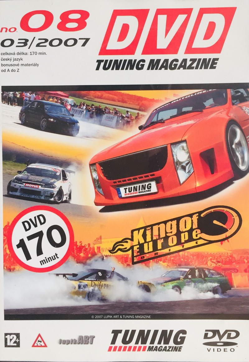 DVD Tuning Magazine No. 08 - DVD /slim/