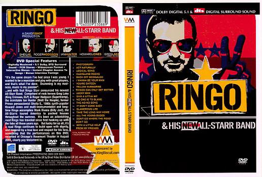 Ringo & His New All-Starr Band - DVD plast ( původní znění bez CZ titulků)
