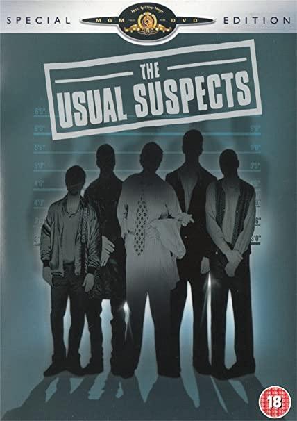 The Usual Suspects - 2 DVD plast (v původním znění bez CZ titulků)