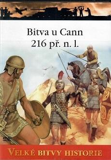 Velké bitvy historie - Bitva u Cann 216 př. n.l. -  DVD /slim/