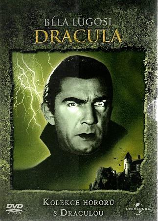 Kolekce hororů s Draculou 3x DVD - Dracula/ Draculova dcera / Draculův dům - DVD