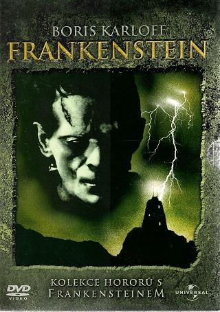 Kolekce Hororů s Frankensteinem 4x DVD