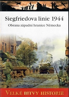 Velké bitvy historie - Siegfriedova linie 1944 -  DVD /slim/