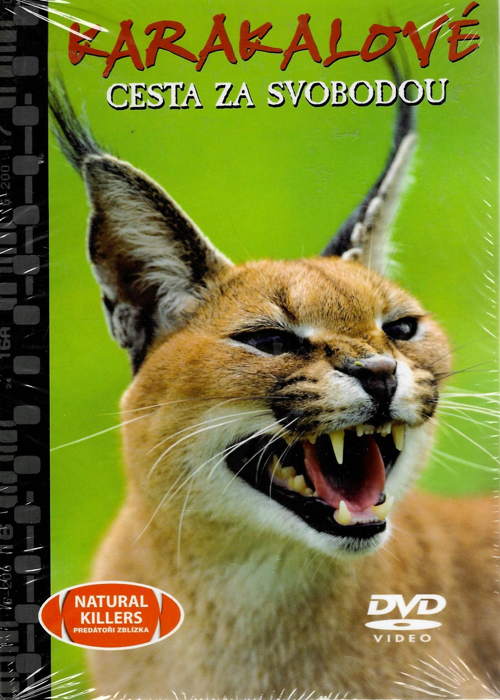 Karakalové - Cesta za svobodou - DVD + brožurka