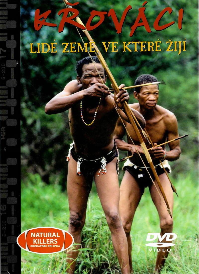 Křováci - Lidé země ve které žijí - DVD + brožura