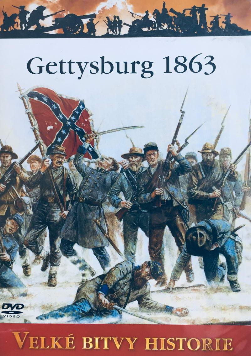 Velké bitvy historie - Gettysburg 1863 -  DVD /slim/