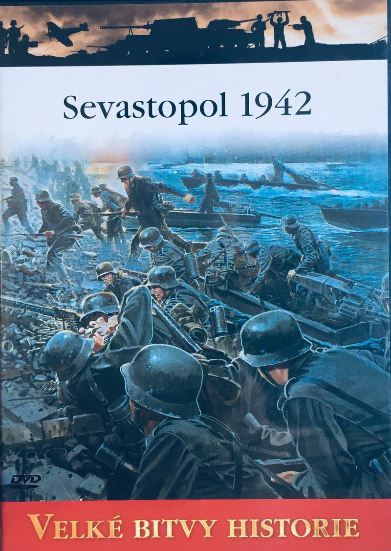 Velké bitvy historie - Sevastopol 1942 -  DVD /slim/