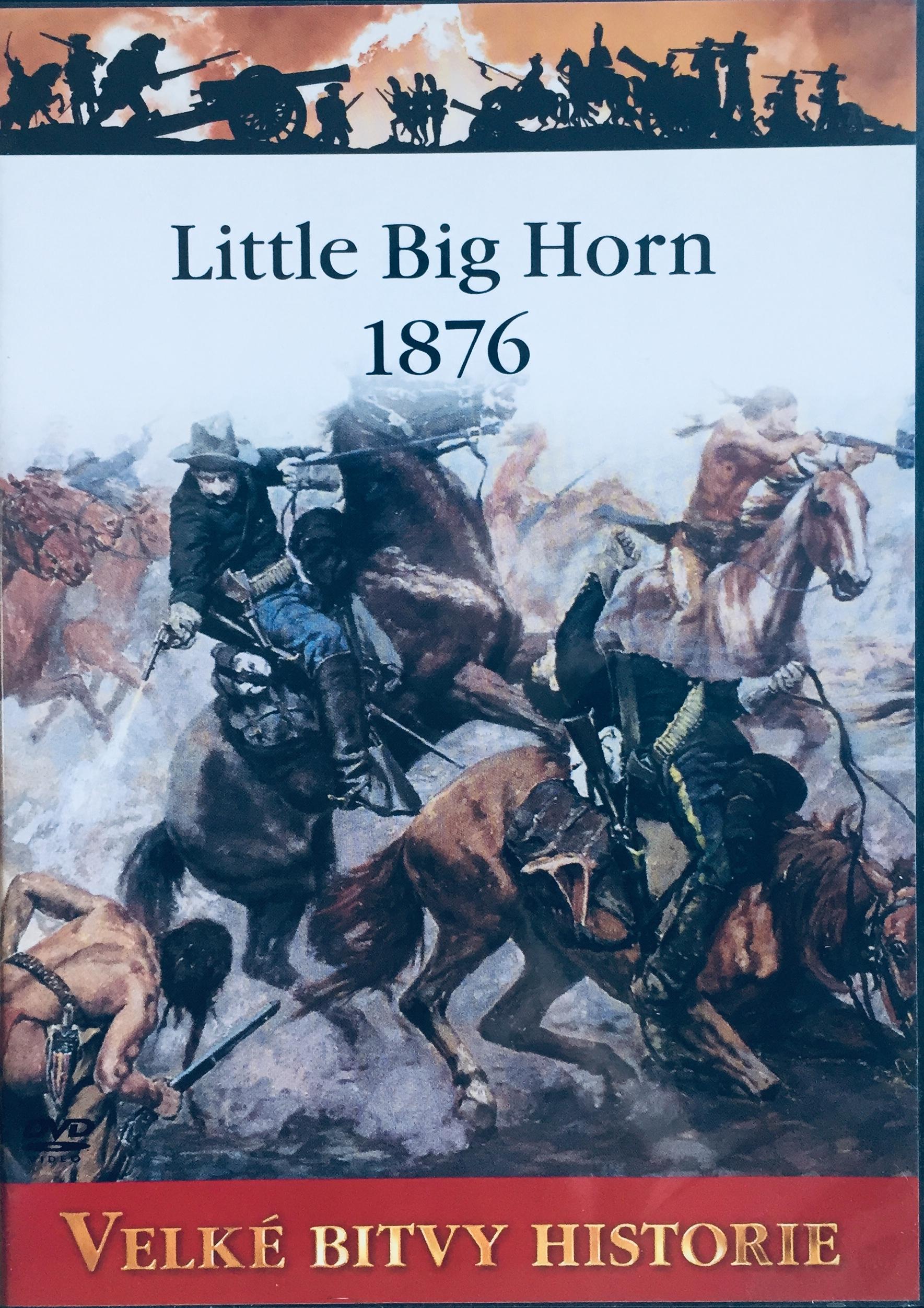 Velké bitvy historie - Little Big Horn 1876 -  DVD /slim/