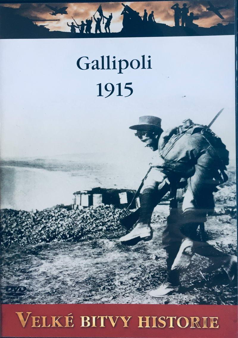 Velké bitvy historie - Gallipoli 1915 -  DVD /slim/