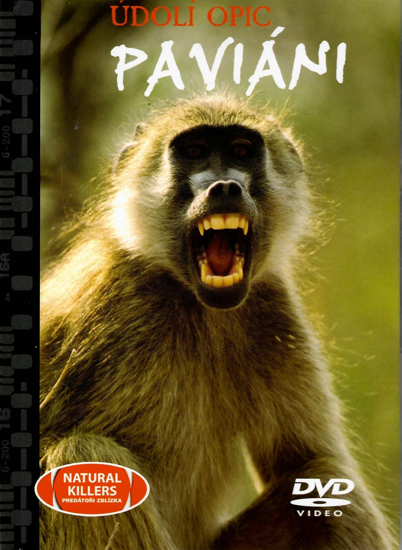 Údolí opic - Paviáni - DVD + brožura