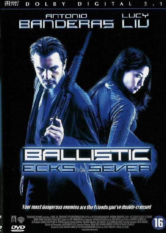 Ballistic - Ecks vs. Sever - v originálním znění bez CZ titulků - DVD /plast/