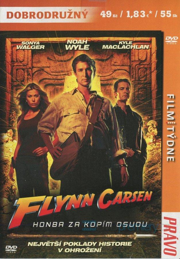 Flynn Carsen - Honba za kopím osudu - DVD /pošetka/