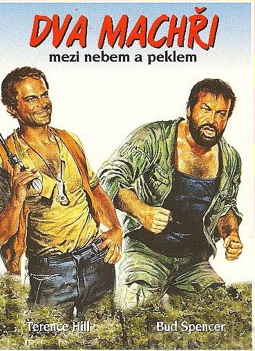 Dva machři mezi nebem a peklem - DVD /pošetka/