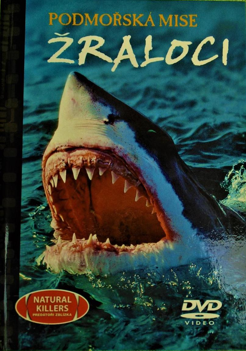 Žraloci - Podmořská mise - DVD /brožura/