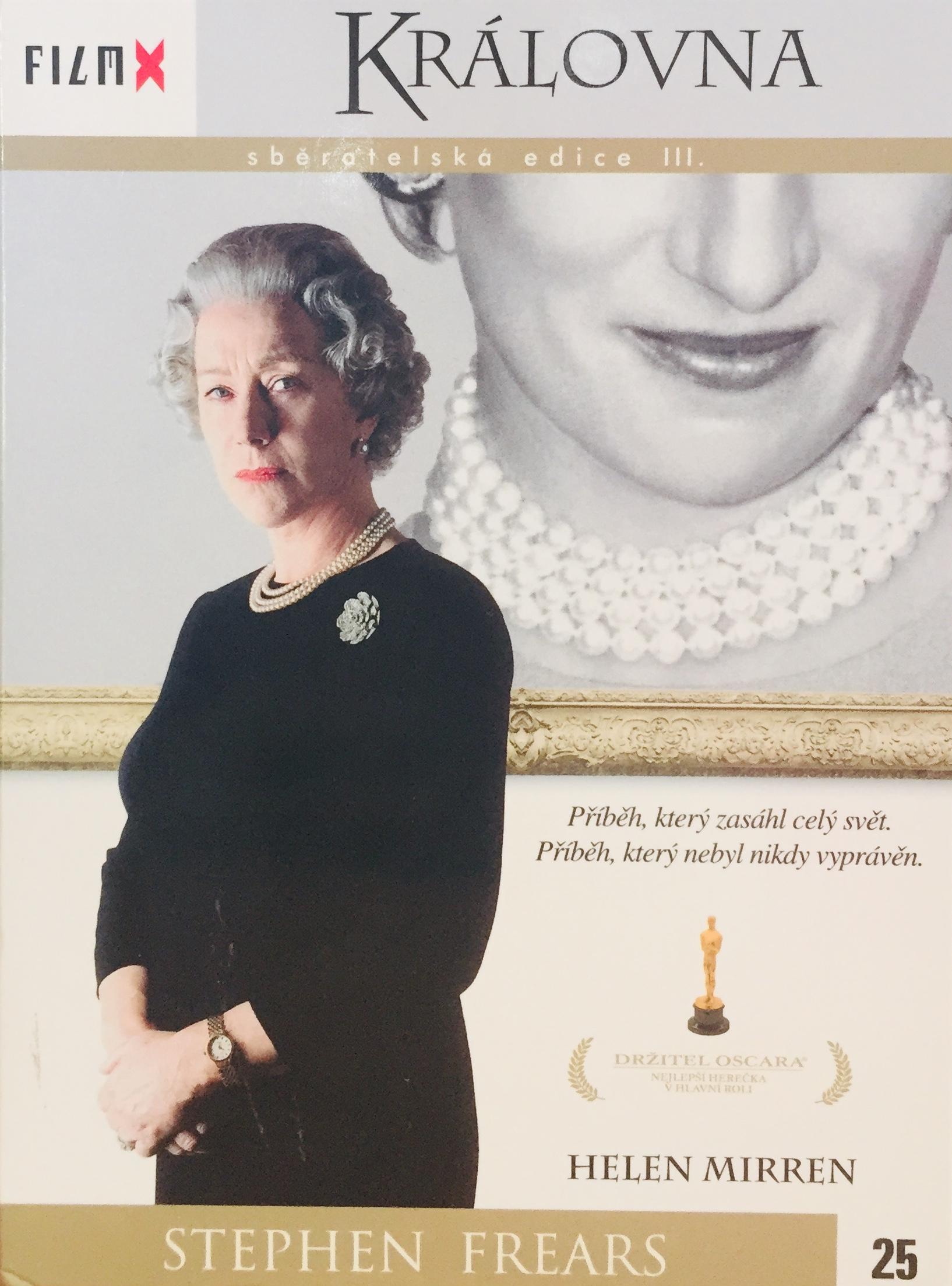 Královna - DVD /digipack/