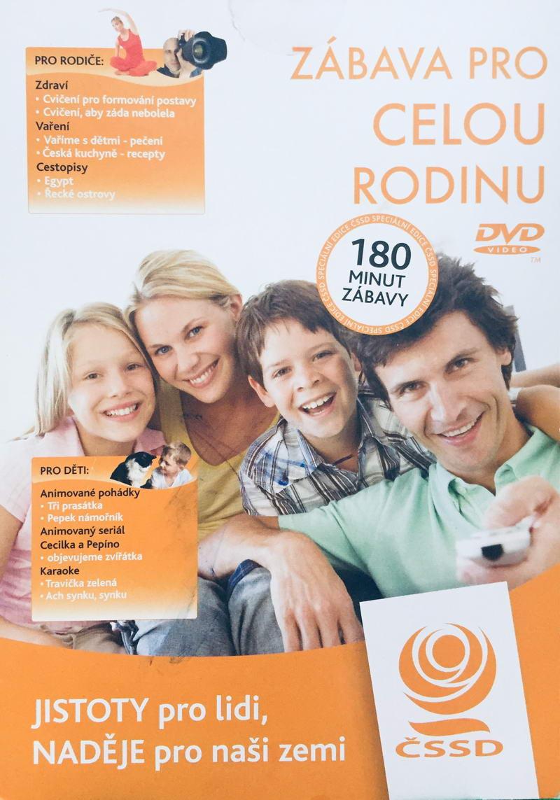 Zábava pro celou rodinu - DVD /pošetka/