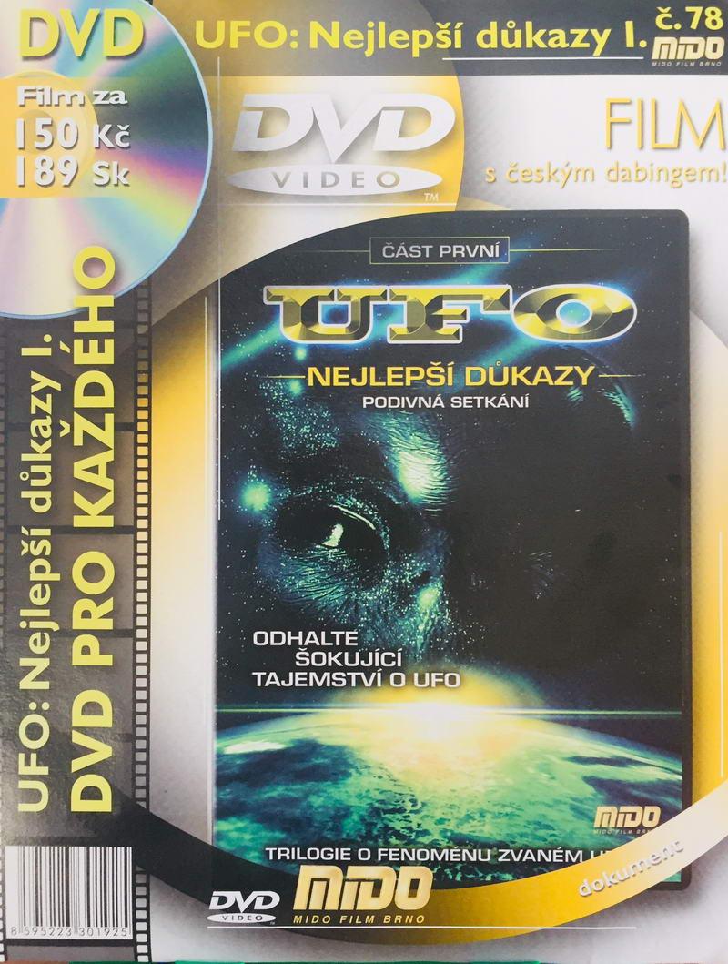 UFO - Nejlepší důkazy podivná setkání - DVD /slim v kartonu/