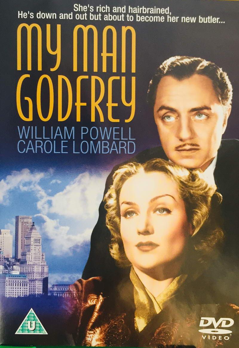 My Man Godfrey - v originálním znění bez CZ titulků - DVD /plast/