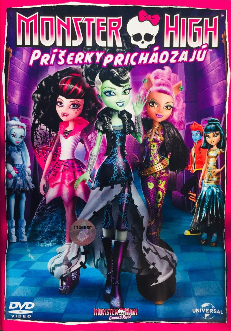 Monster High - Příšerky prichádzajú - DVD /plast/