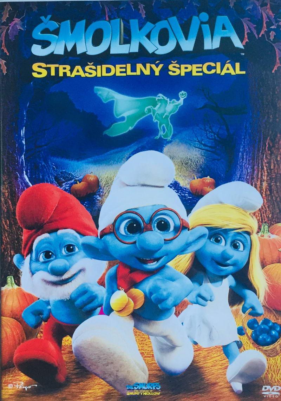 Šmolkovia - Strašidelný špeciál - DVD /plast/
